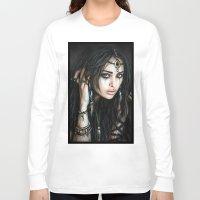 gypsy Long Sleeve T-shirts featuring Gypsy by Justin Gedak