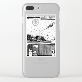 Sci Fi Sky / 2016: The Booth Philosopher Series Clear iPhone Case