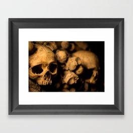 Catacombs 1 Framed Art Print