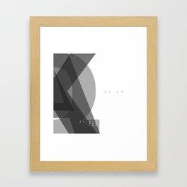 Edged Framed Art Print