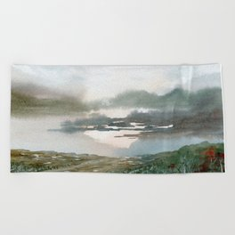 Close to the Edge Beach Towel
