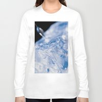 ice Long Sleeve T-shirts featuring Ice by Euan Anderson