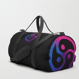 BDSM Triskelion Bisexual Pride Duffle Bag
