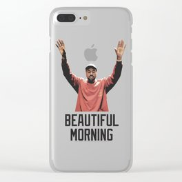 Beautiful Morning Clear iPhone Case