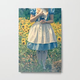 If I Had A World Of My Own... Metal Print