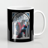 nightcrawler Mugs featuring Wagner's Sword by Andrew Formosa
