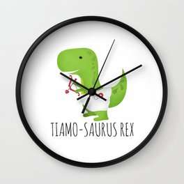 Tiamo-saurus Rex Wall Clock