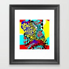 Color Bomb  Framed Art Print