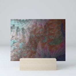 Crushed Glass Mini Art Print