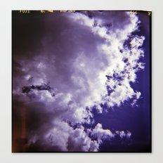 Lomographic Sky 4 Canvas Print
