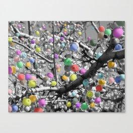 Gumball Tree Canvas Print