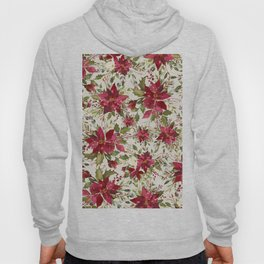 POINSETTIA - FLOWER OF THE HOLY NIGHT Hoody