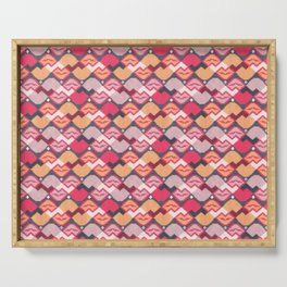 """Those lips are """"kilim"""" me Serving Tray"""