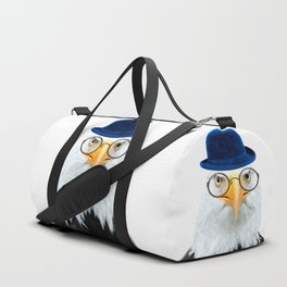 Funny Eagle Portrait Duffle Bag