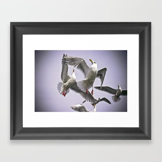 """ The Beauty of Flight "" - Print Framed Art Print"