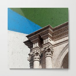 Collage from the Basilica Cathedral of Arequipa in Peru #eclecticart Metal Print