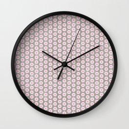Dotty Grunge Wall Clock