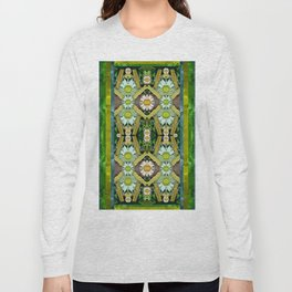 Bread sticks and fantasy flowers in a rainbow Long Sleeve T-shirt