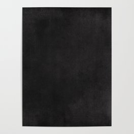 Simple Chalkboard background- black - Autum World Poster