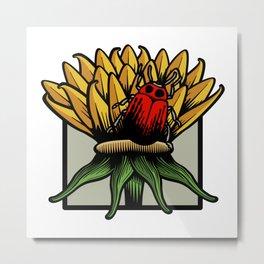 Flora & Fauna I Metal Print