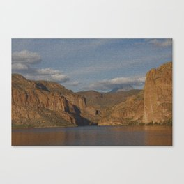 PUZZLED IN A ZONA Canvas Print