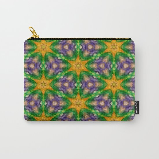 Mardi Gras stars #4509 Carry-All Pouch