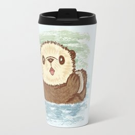 Sea otter Travel Mug
