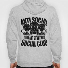 Anti Social Club Mobbing loner gift Hoody