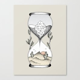 Time Is Running Out Canvas Print