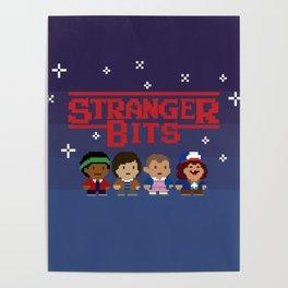 STRANGER 8-BITS Poster