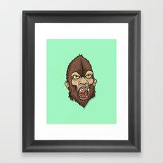 Wildman Framed Art Print