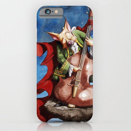 Feline counter bassist iPhone & iPod Case
