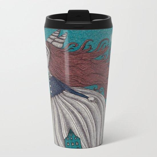 The Little Mermaid (1) Metal Travel Mug