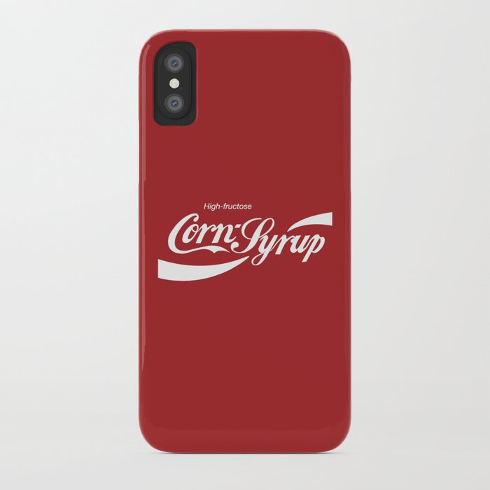 High Fructose Corn Syrup iPhone Case