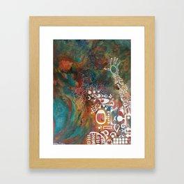 mommy used to be soooo pretty... Framed Art Print