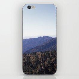 Hillside of Trees iPhone Skin
