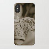 manga iPhone & iPod Cases featuring manga by gorkarcophoto