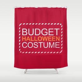 Budget Halloween Shower Curtain