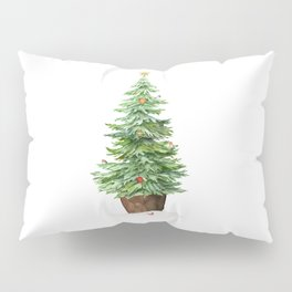 Trimming The Tree Pillow Sham
