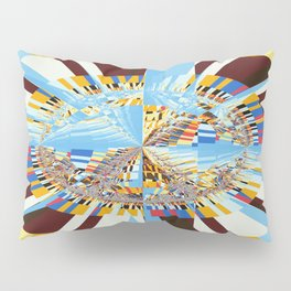 Midday sun on a mountain top Pillow Sham