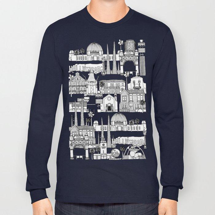 Los Angeles blue Long Sleeve T-shirt