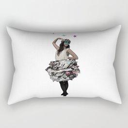 Paper doll Rectangular Pillow