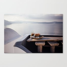 Santorini, Greece. Canvas Print