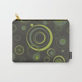 Psychedelic Circles Carry-All Pouch