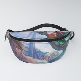 Pool Party Ziggs League of Legends Fanny Pack