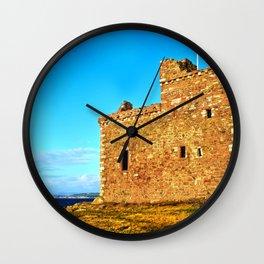 Portencross Castle Wall Clock