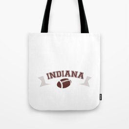 Just a Baller from Indiana Football Player Tote Bag