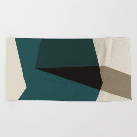 Abstract #178 Beach Towel