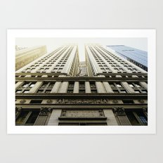Equitable Building. Art Print