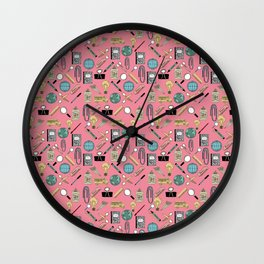 Back to school 3 Wall Clock